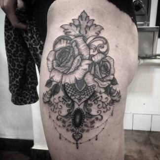 Cheers Daisy. First tattoo.